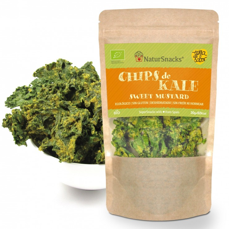 Kale Chip Sweet Mustard